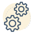 Forex trading course - gear icon