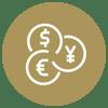 Forex trading icon