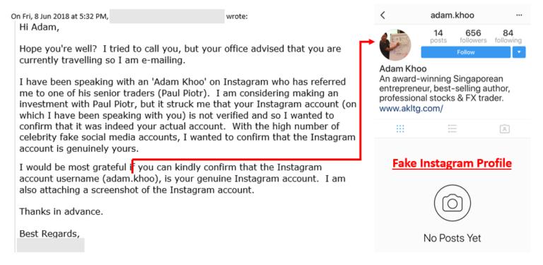 Beware of the Adam Khoo Scam!