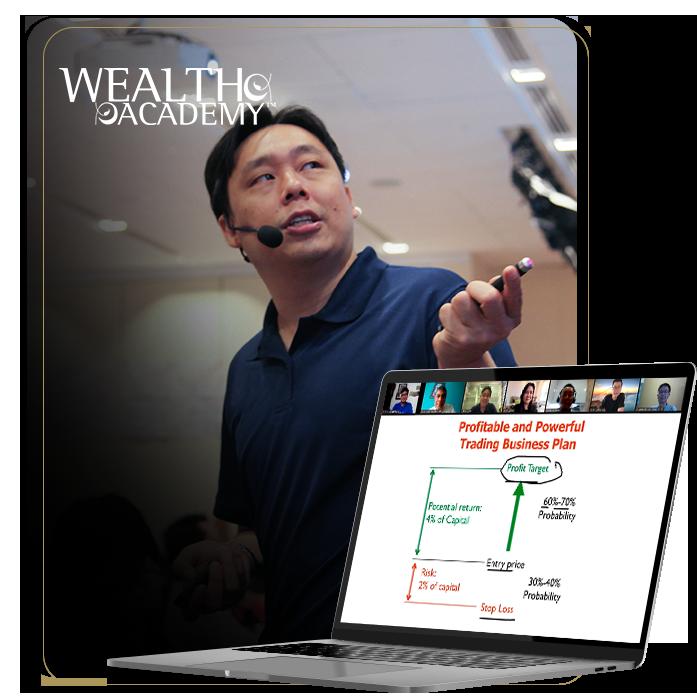 Adam Khoo teaching the Wealth Academy masterclass