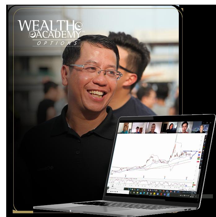 Bang Pham Van teaching the Wealth Academy Options masterclass