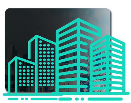 Banner for the REIT Investing Course showing multiple high-rise buildings