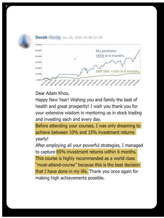 Value Momentum Investing course review - Derek-1