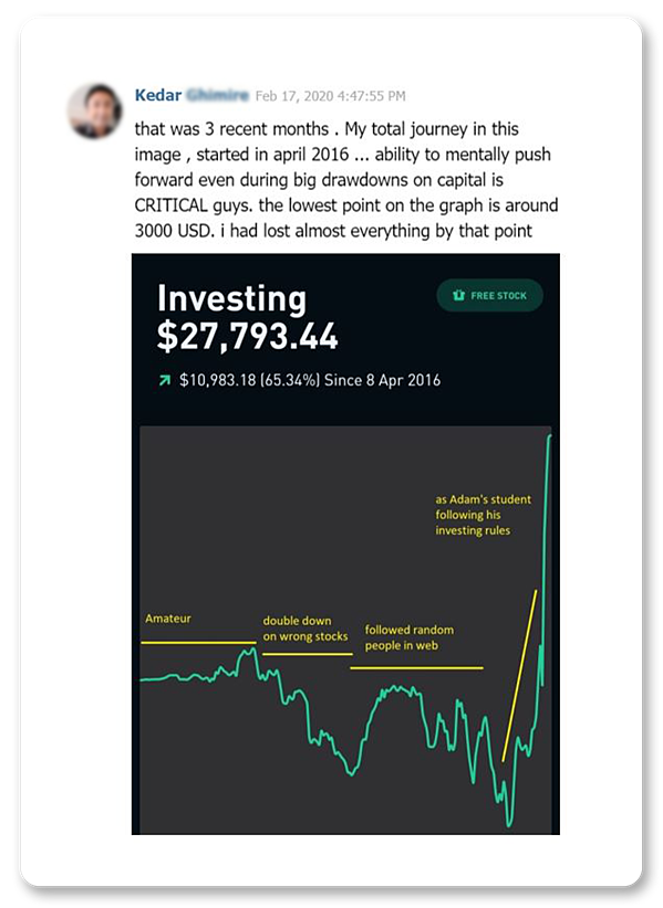 Value Momentum Investing course review - Kedar