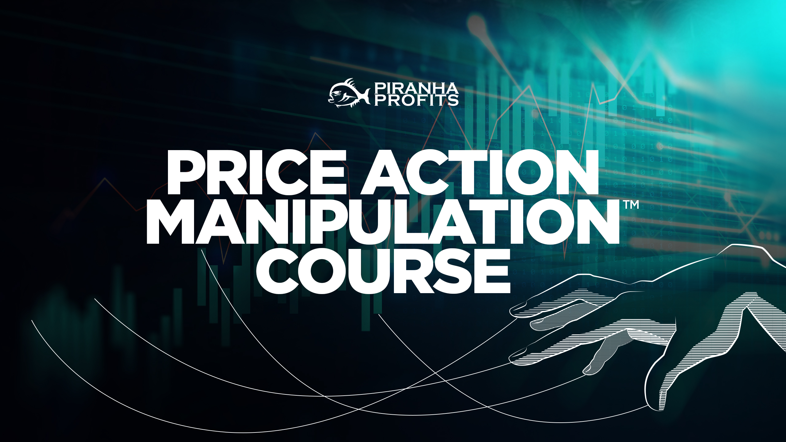 Price Action Manipulation Course banner