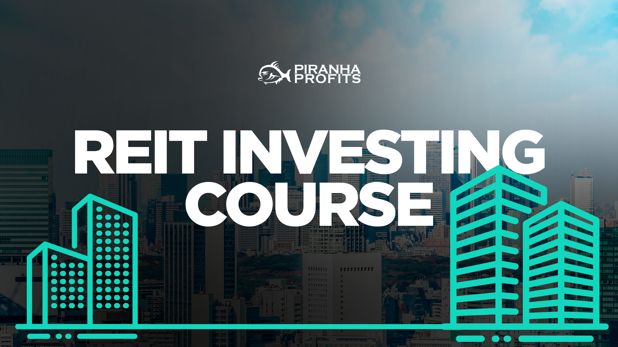 REIT investing course banner
